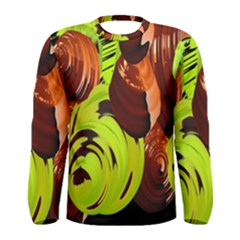 Neutral Abstract Picture Sweet Shit Confectioner Men s Long Sleeve Tee