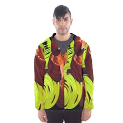 Neutral Abstract Picture Sweet Shit Confectioner Hooded Wind Breaker (men)