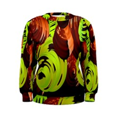 Neutral Abstract Picture Sweet Shit Confectioner Women s Sweatshirt