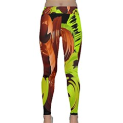 Neutral Abstract Picture Sweet Shit Confectioner Classic Yoga Leggings