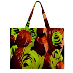 Neutral Abstract Picture Sweet Shit Confectioner Zipper Mini Tote Bag