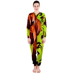 Neutral Abstract Picture Sweet Shit Confectioner OnePiece Jumpsuit (Ladies)