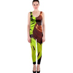 Neutral Abstract Picture Sweet Shit Confectioner Onepiece Catsuit