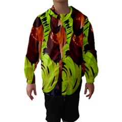 Neutral Abstract Picture Sweet Shit Confectioner Hooded Wind Breaker (kids)
