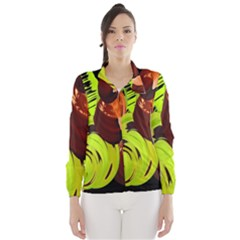 Neutral Abstract Picture Sweet Shit Confectioner Wind Breaker (women)