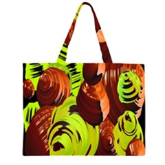Neutral Abstract Picture Sweet Shit Confectioner Large Tote Bag