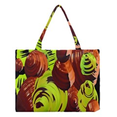 Neutral Abstract Picture Sweet Shit Confectioner Medium Tote Bag