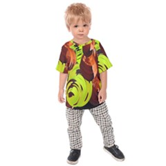 Neutral Abstract Picture Sweet Shit Confectioner Kids  Raglan Tee