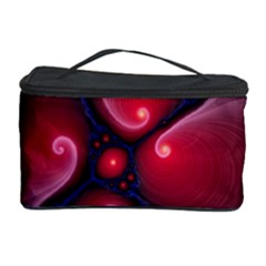 Color Fractal Pattern Cosmetic Storage Case