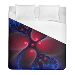 Color Fractal Pattern Duvet Cover (full/ Double Size)