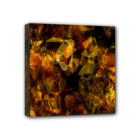 Autumn Colors In An Abstract Seamless Background Mini Canvas 4  x 4