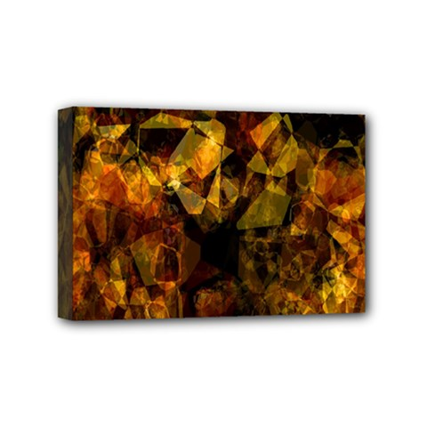 Autumn Colors In An Abstract Seamless Background Mini Canvas 6  X 4