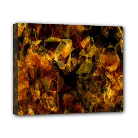 Autumn Colors In An Abstract Seamless Background Canvas 10  X 8