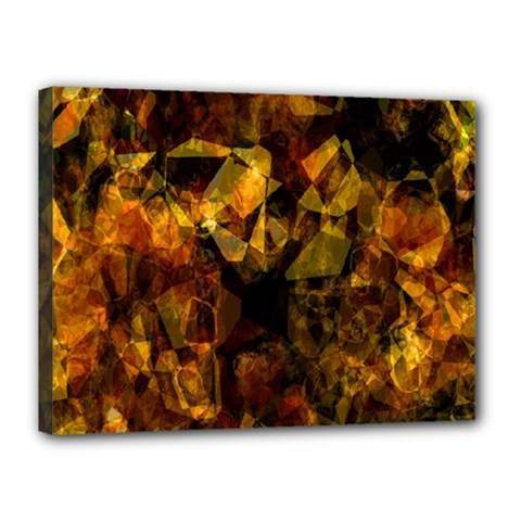Autumn Colors In An Abstract Seamless Background Canvas 16  X 12