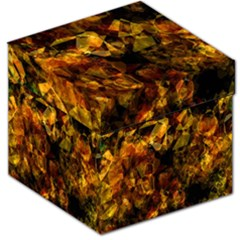 Autumn Colors In An Abstract Seamless Background Storage Stool 12