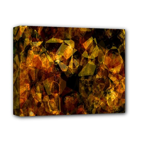 Autumn Colors In An Abstract Seamless Background Deluxe Canvas 14  x 11