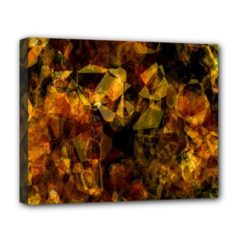 Autumn Colors In An Abstract Seamless Background Deluxe Canvas 20  x 16