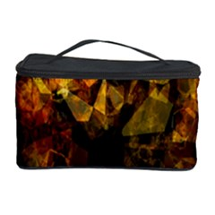 Autumn Colors In An Abstract Seamless Background Cosmetic Storage Case