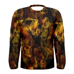Autumn Colors In An Abstract Seamless Background Men s Long Sleeve Tee