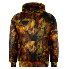Autumn Colors In An Abstract Seamless Background Men s Pullover Hoodie