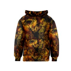 Autumn Colors In An Abstract Seamless Background Kids  Pullover Hoodie