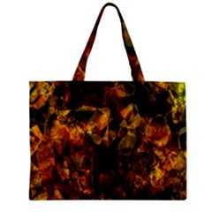 Autumn Colors In An Abstract Seamless Background Zipper Mini Tote Bag