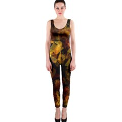 Autumn Colors In An Abstract Seamless Background Onepiece Catsuit
