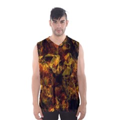 Autumn Colors In An Abstract Seamless Background Men s Basketball Tank Top