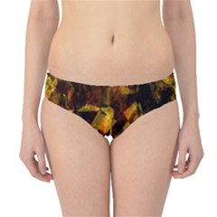 Autumn Colors In An Abstract Seamless Background Hipster Bikini Bottoms