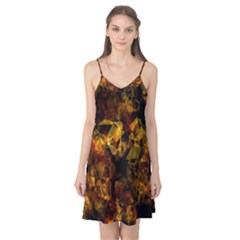 Autumn Colors In An Abstract Seamless Background Camis Nightgown