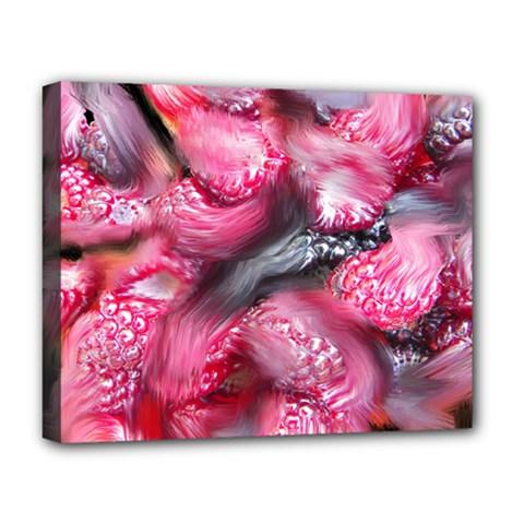 Raspberry Delight Deluxe Canvas 20  X 16