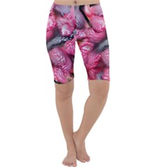 Raspberry Delight Cropped Leggings
