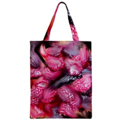 Raspberry Delight Zipper Classic Tote Bag