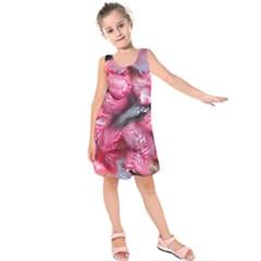 Raspberry Delight Kids  Sleeveless Dress