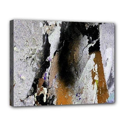 Abstract Graffiti Background Canvas 14  x 11