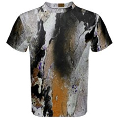 Abstract Graffiti Background Men s Cotton Tee