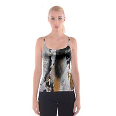Abstract Graffiti Background Spaghetti Strap Top