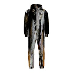 Abstract Graffiti Background Hooded Jumpsuit (kids)
