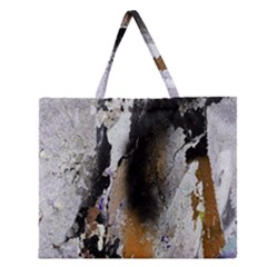 Abstract Graffiti Background Zipper Large Tote Bag