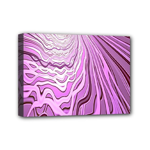 Light Pattern Abstract Background Wallpaper Mini Canvas 7  x 5