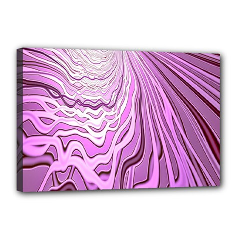 Light Pattern Abstract Background Wallpaper Canvas 18  x 12