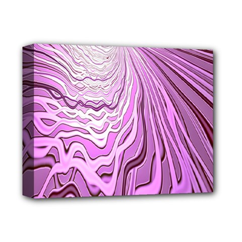 Light Pattern Abstract Background Wallpaper Deluxe Canvas 14  X 11