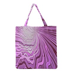 Light Pattern Abstract Background Wallpaper Grocery Tote Bag
