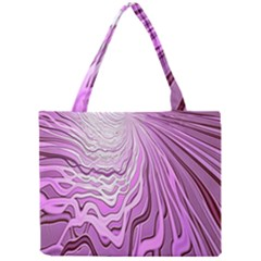 Light Pattern Abstract Background Wallpaper Mini Tote Bag