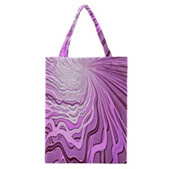 Light Pattern Abstract Background Wallpaper Classic Tote Bag