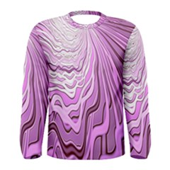 Light Pattern Abstract Background Wallpaper Men s Long Sleeve Tee