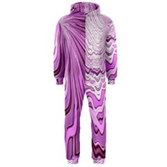 Light Pattern Abstract Background Wallpaper Hooded Jumpsuit (Men)