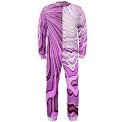 Light Pattern Abstract Background Wallpaper OnePiece Jumpsuit (Men)