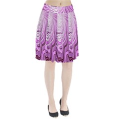 Light Pattern Abstract Background Wallpaper Pleated Skirt