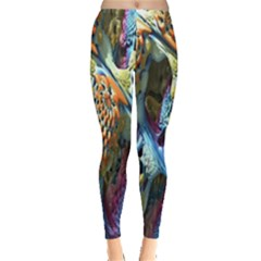 Background, Wallpaper, Texture Leggings